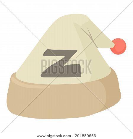 Sleeping hat icon. Cartoon illustration of sleeping hat vector icon for web