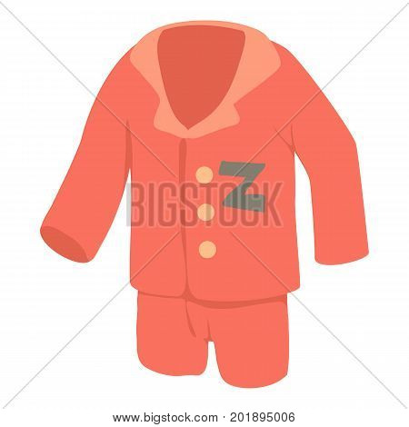 Pajamas icon. Cartoon illustration of pajamas vector icon for web