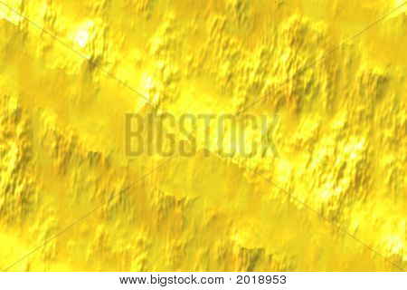 Abstract Composition, Gold
