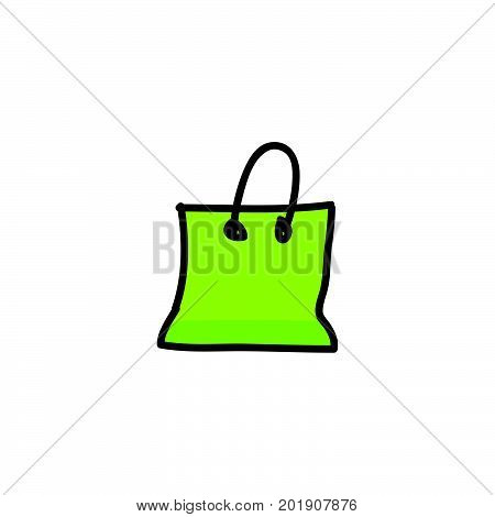 doodle shop icon stock vector design, shop icon vector