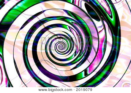 Abstract Composition, Spiral