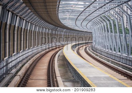 Malaysia MRT (Mass Rapid Transit) railway, a transportation for future generation.