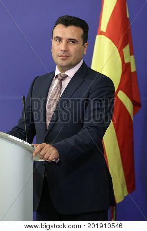 Prime Minister Of Macedonia Zoran Zaev