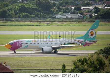 Hs-dbq Boeing 737-800 Of Nokair