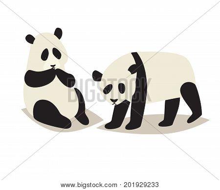 Panda Cute Animal Vector Photo Free Trial Bigstock