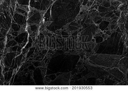 Black marble texture background. (High res.)