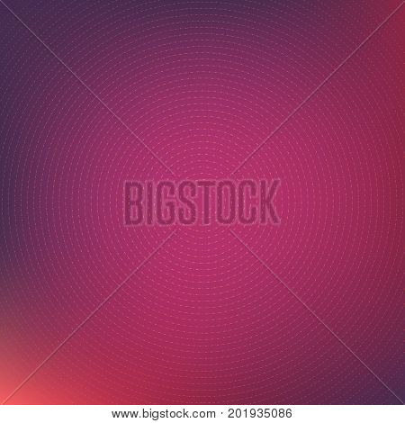 Colorful abstract background with thin line concentric circles ornament geometric design business card cover. Vector illustration.