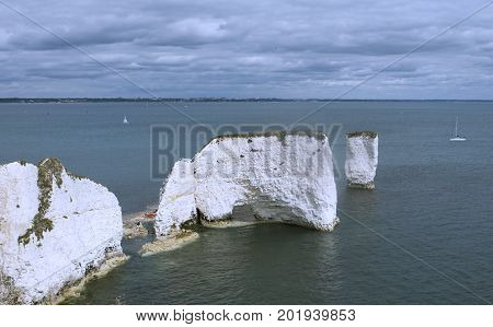 Everyone's got to love a day at 'Old Harry Rocks' from tourists to geologists alike.