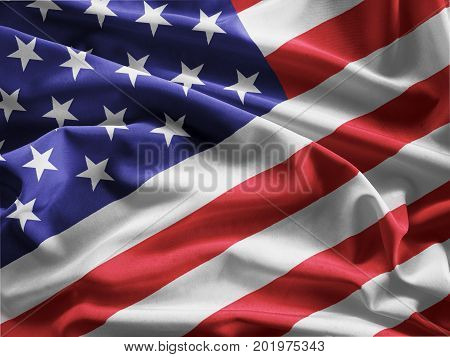 American flag , USA , background .