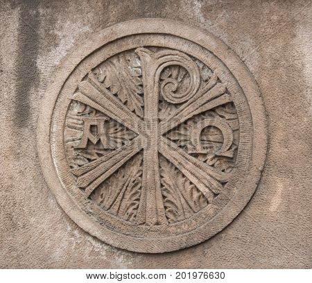 Boston, MA, USA, August 2016, Boston Trinity Church architectural detail