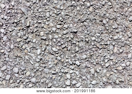 Old Grey Asphalt Road Surface Texture