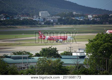Hs-bbn  Airbus A320-200 Of Thaiairasia.