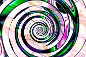 abstract composition spiral art textures and backgrounds poster