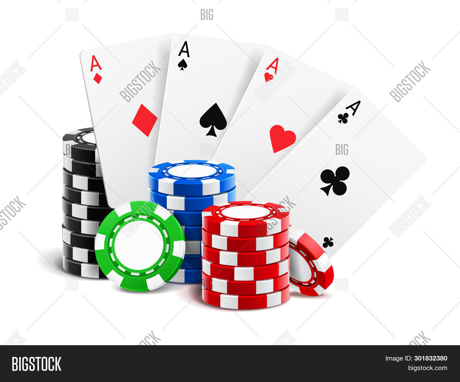 Playing Cards Near Image Photo Free Trial Bigstock