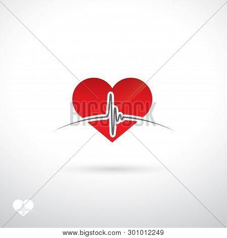 Heartbeat Sign - Vector Illustration - Vector