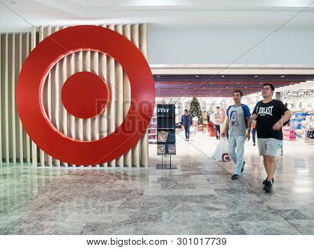 Melbourne, Australia - December 9, 2018: Target Is A Discounter Department Store Owned By Wesfarmers