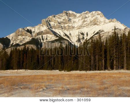 Cascade Mountain In Winter