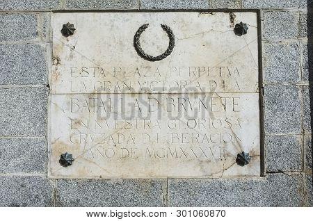 Symbols Honouring The Dictatorship Of Dictator Francisco Franco In Public Spaces