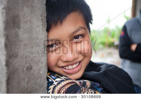 Young Balinese Boy
