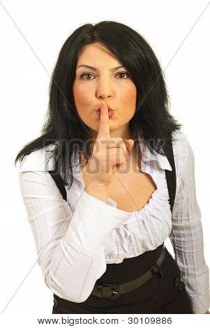 Hush! Be Quiet!