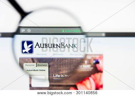 Richmond, Virginia, Usa - 9 May 2019: Illustrative Editorial Of Auburn National Bancorporation Inc W