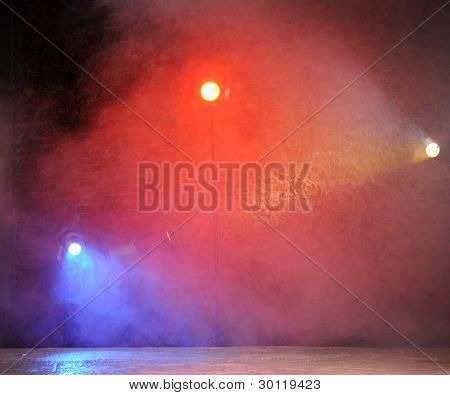 Concert Bright Light In Club Background