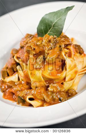 Pappardelle With Wild Boar