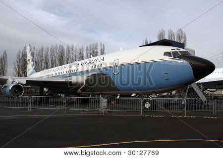 Retired air force one