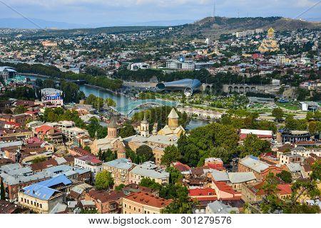 Cityscape Of Tbilisi, Georgia