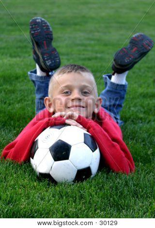 Fußball-Kissen