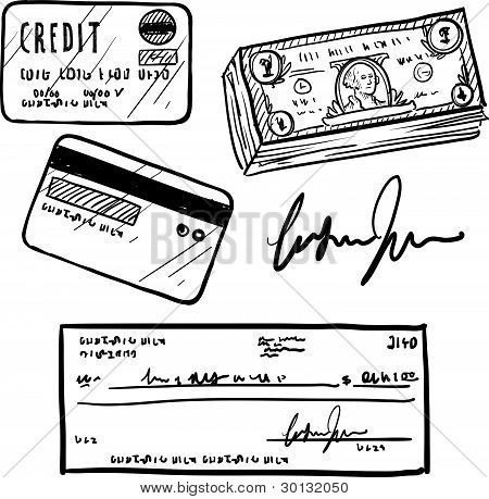Financial items sketch