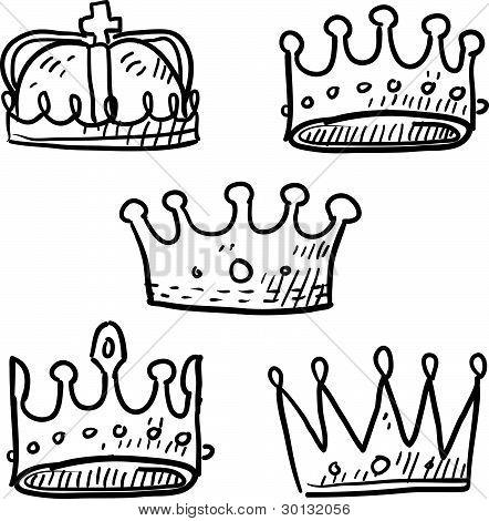 Crowns sketch