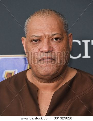 LOS ANGELES - APR 22:  Laurence Fishburne arrives for the