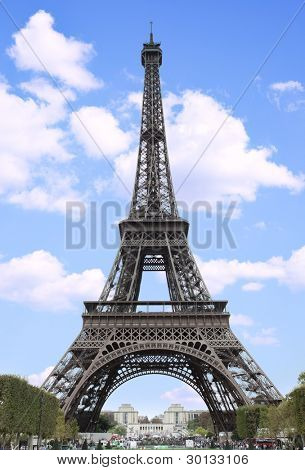 The Eiffel Tower in Paris, France poster