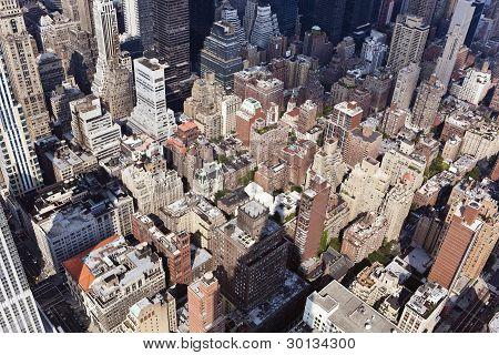 new york: manhattan cityscape