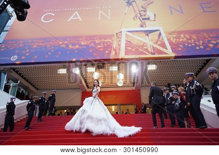 Jessica Jung attends the opening ceremony during the 72nd Cannes Film Festival on May 14, 2019 in Cannes, France.