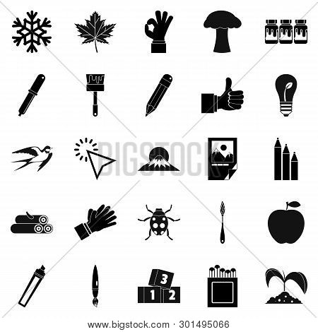 Ecological Solution Icons Set. Simple Set Of 25 Ecological Solution Icons For Web Isolated On White