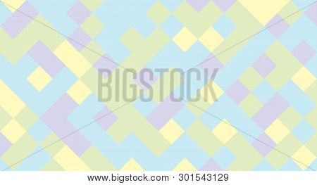 Abstract Background From Multi-colored Shaped Rhombus. Background For Design.