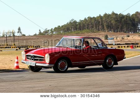 """Marinha Grande, Portugal - February 11: Carlos Rosa Participating In """"12Th Classic And Sport Cars Me"""