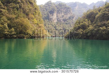 The Baofeng Lake. Zhangjiajie National Park, China.