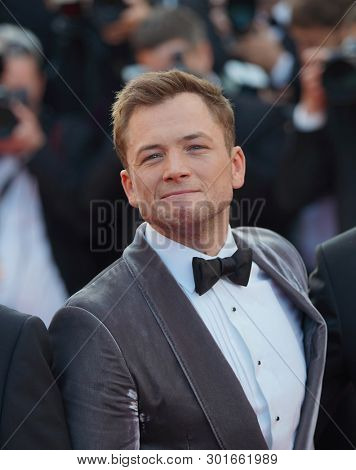 Taron Egerton attend the screening of