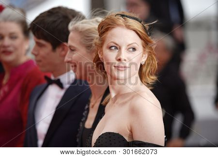 Emily Beecham attends the screening of