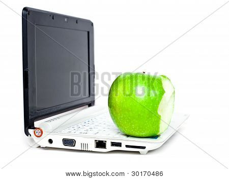 Apple And Notebook