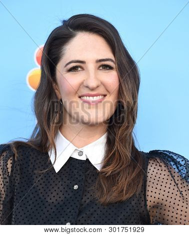 LOS ANGELES - MAY 17:  D'Arcy Carden arrives for the 'Late Night with Seth Meyers' FYC on May 17, 2019 in North Hollywood, CA