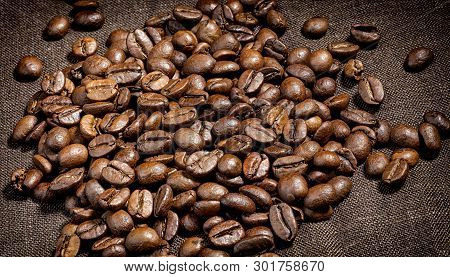 Aroma ,background, Bean ,black ,brown, Cafe, Caffeine ,canvas, Cappuccino, Close-up, Close-up Of Cof