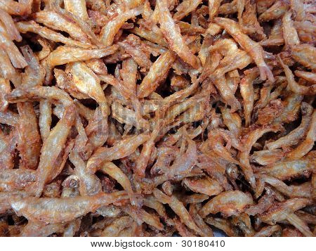 crisp fried fish