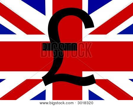 Pound With Flag