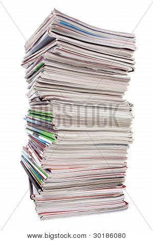 The High Stack Of Old Useless Papers