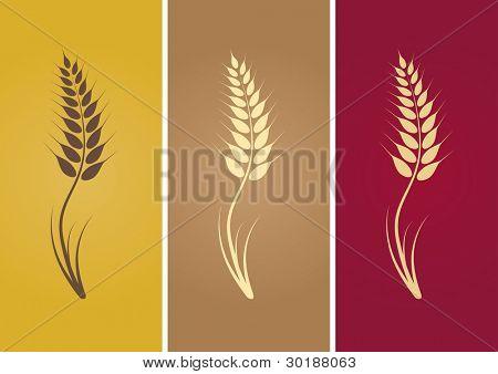 wheat silhouette.