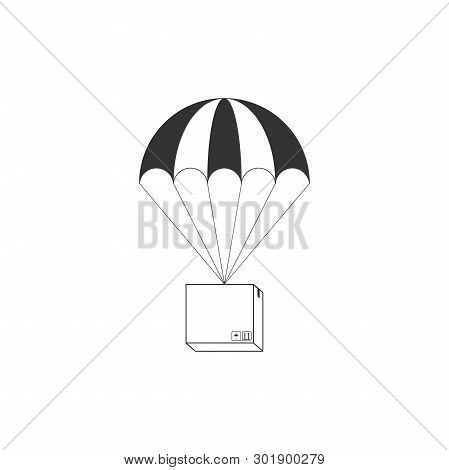 Box Flying On Vector & Photo (Free Trial) | Bigstock
